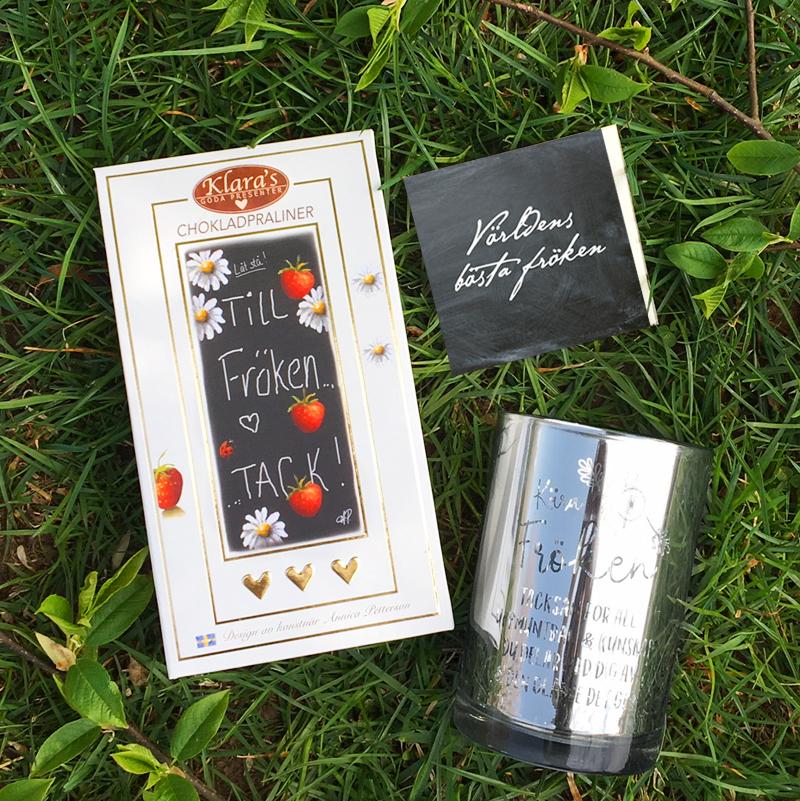 Fröken paket 2 - Presentset till Fröken • Pryloteket