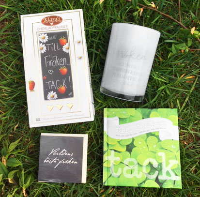 Fröken paket 3 - Presentset till Fröken • Pryloteket