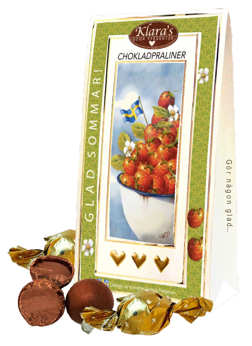 Glad sommar! - Lyxiga chokladpraliner