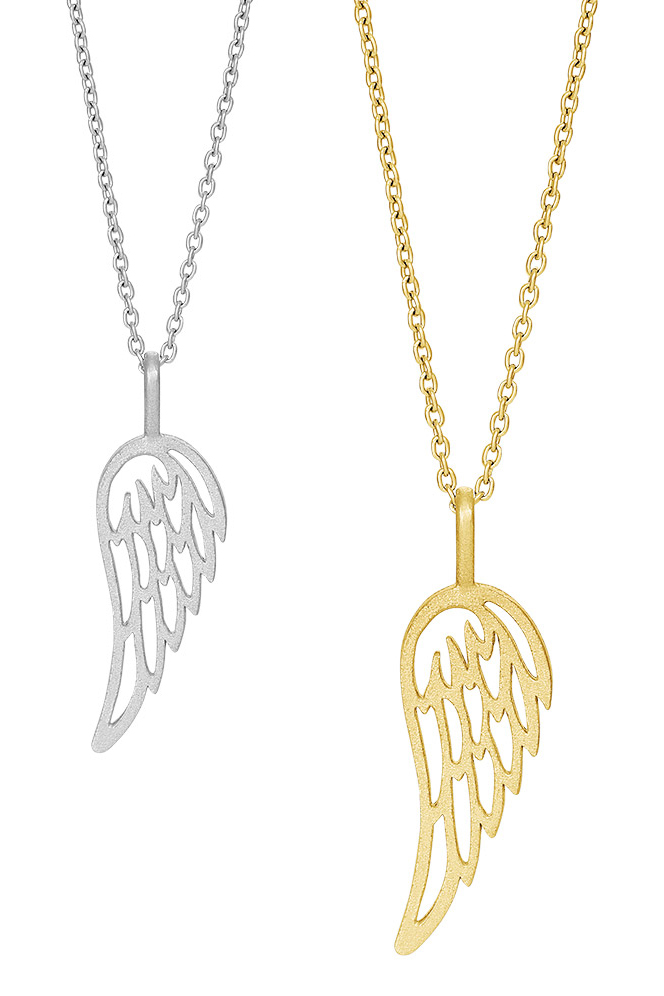 Halsband Fly Angel wing - Nordahl Jewellery (Silver)