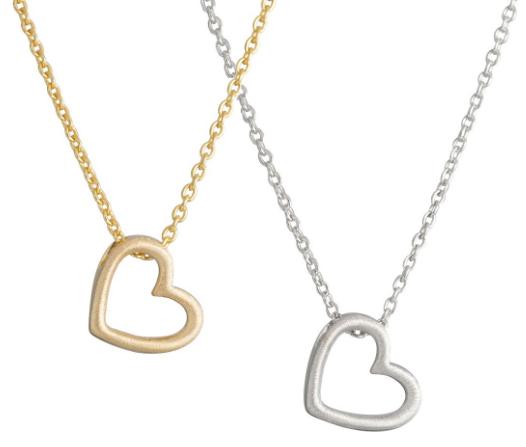 Halsband Heart, guld - Nordahl Jewellery (Guld) • Pryloteket