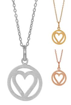 Halsband Heartland - Nordahl Jewellery (Roséguld)