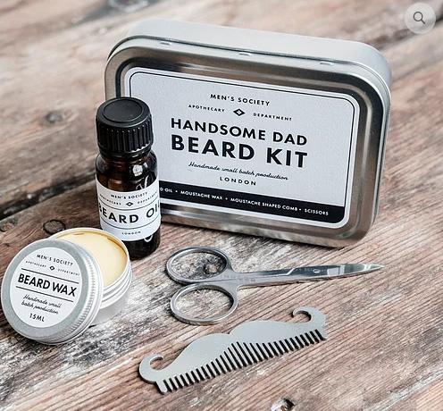 Handsome Dad Beard Kit (Skägg-kit) • Pryloteket