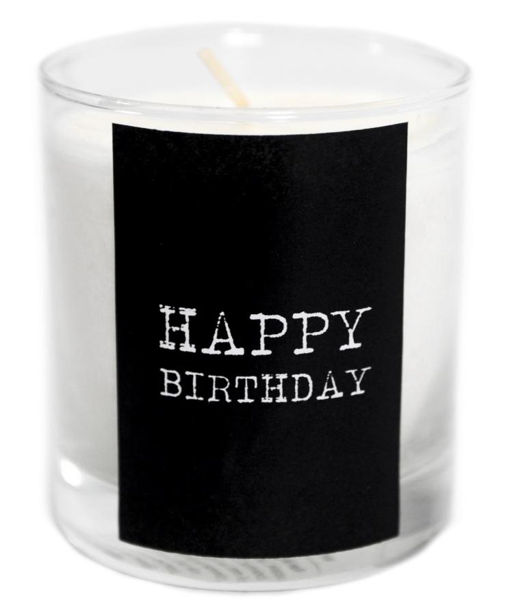 Happy Birthday Doftljus (citrongräs) • Pryloteket