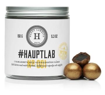 Haupt Lakrits - #Hauptlab 001 Limited Edition • Pryloteket
