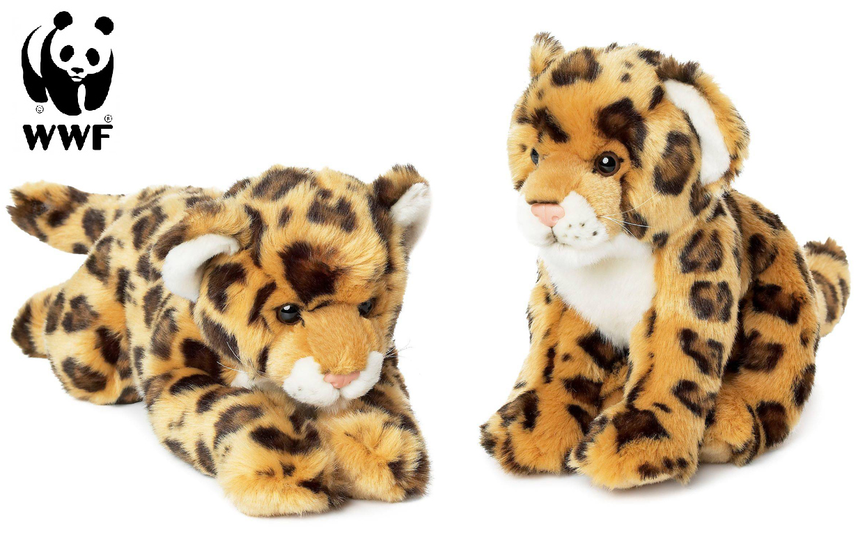 Jaguar - WWF (Världsnaturfonden) (Sittande (23cm))