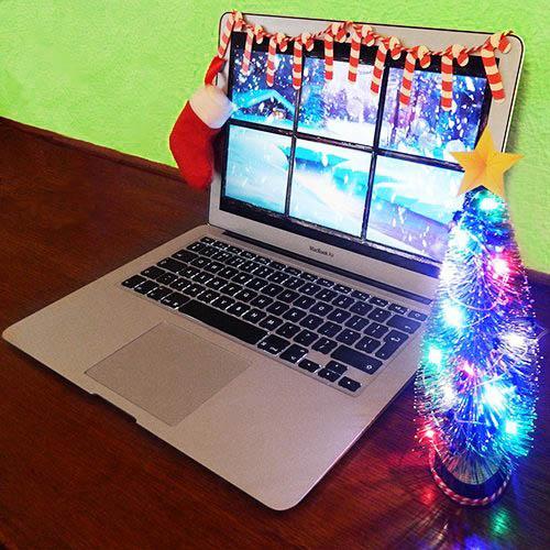 Juldekoration för skrivbordet • Pryloteket