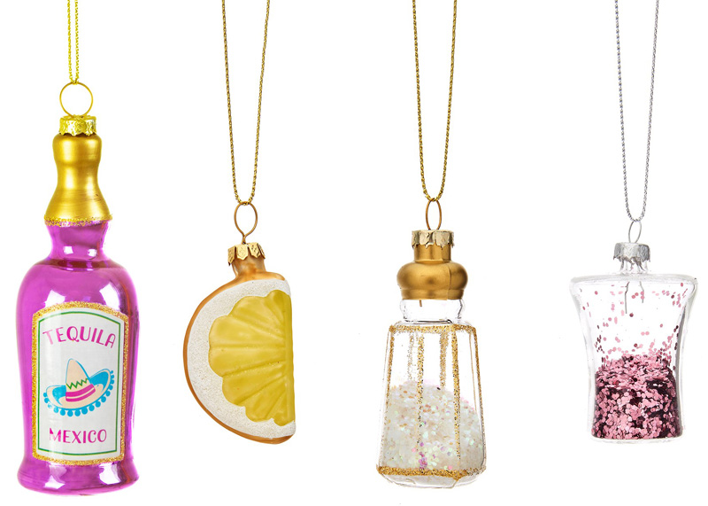 "Julgranskulor ""Tequila"", 4-pack"