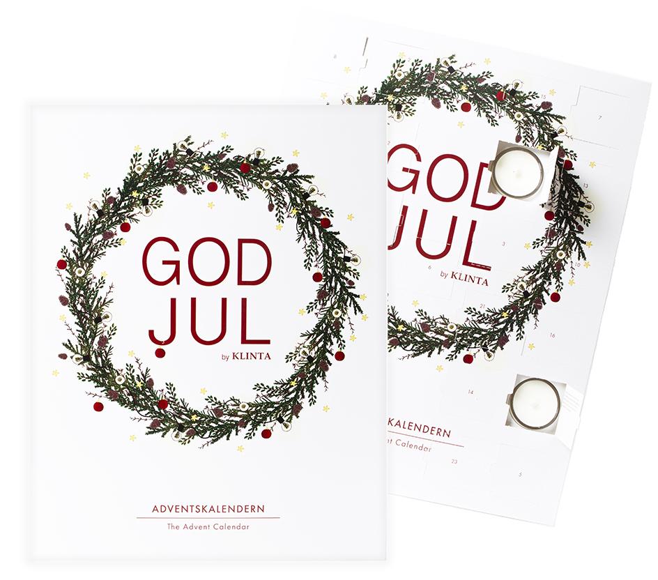 *FÖRBOKNING* Adventskalender Doftljus - Klinta • Pryloteket