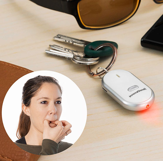 Key Finder - Nyckelring med lokaliserare • Pryloteket