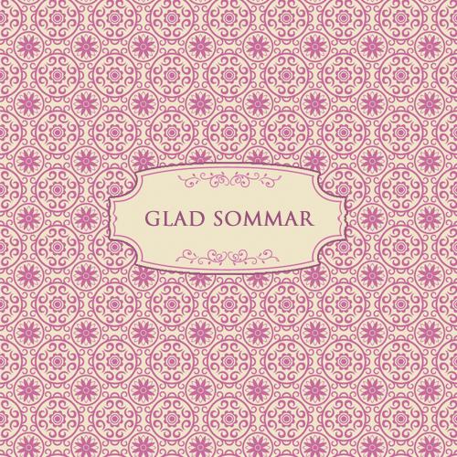 """Kort """"Glad sommar"""" • Pryloteket"""
