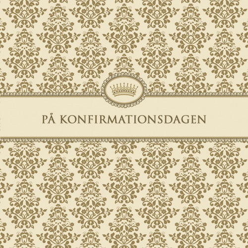 "Kort """"På Konfirmationsdagen"""""