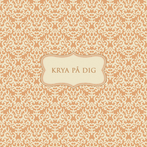 """Kort """"Krya på Dig • Pryloteket"""