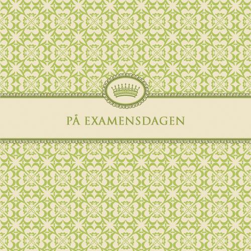 """Kort """"På Examensdagen"""" • Pryloteket"""