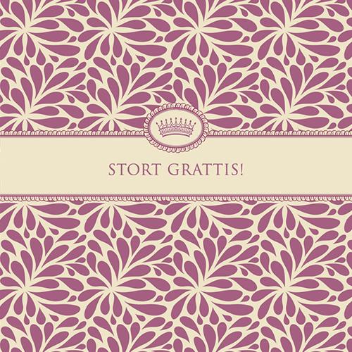 "Kort ""Stort Grattis"" • Pryloteket"