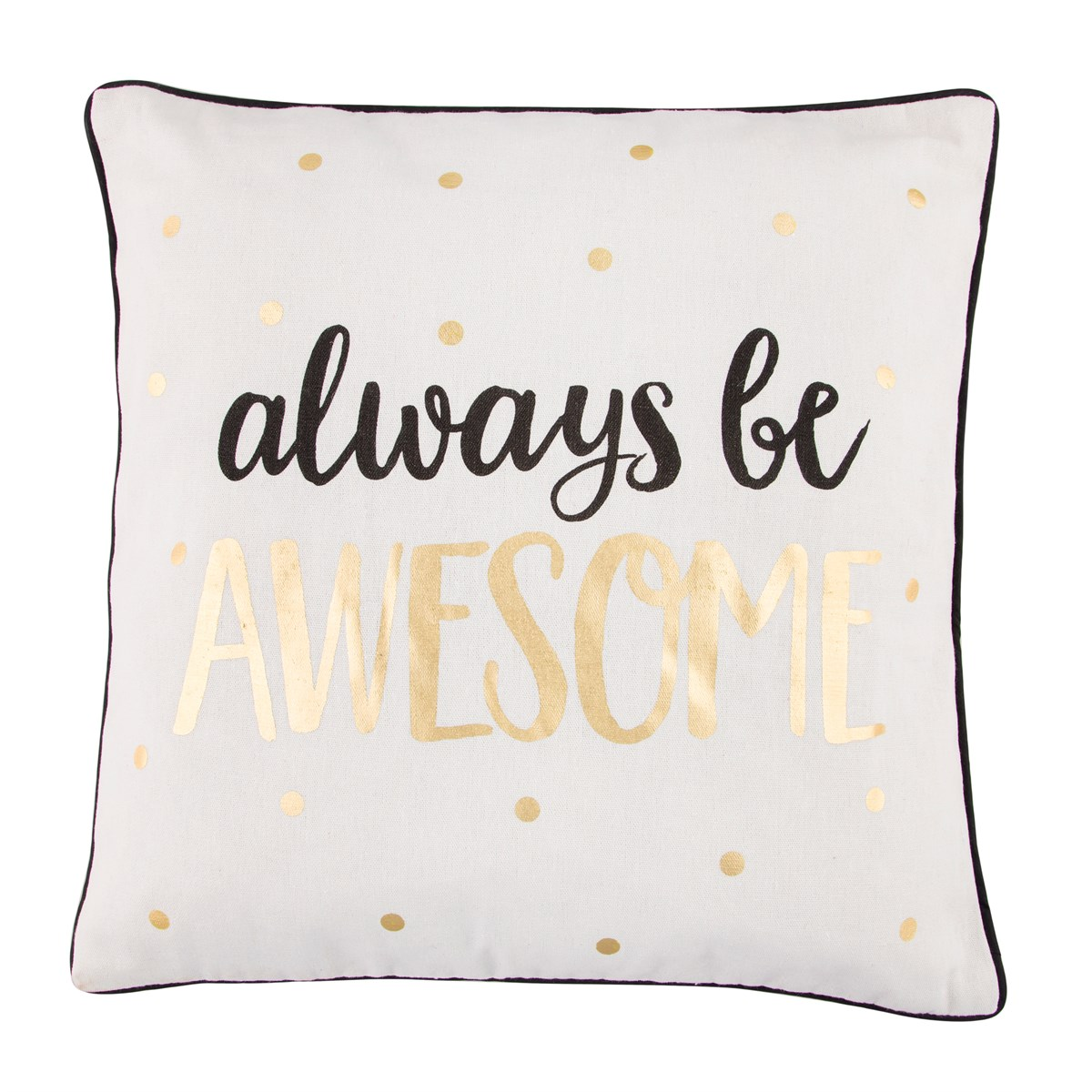 "Kudde ""Always be awesome"" • Pryloteket"