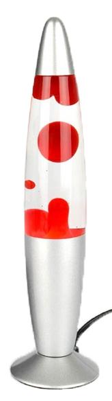 Lavalampa (Röd) • Pryloteket