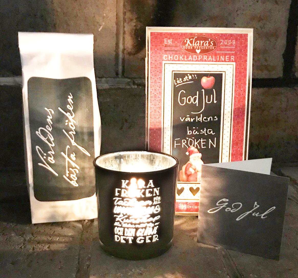 Lilla God Jul-paketet till Fröken • Pryloteket