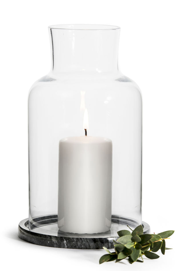 Ljuslykta Marble (marmor) - Sagaform • Pryloteket