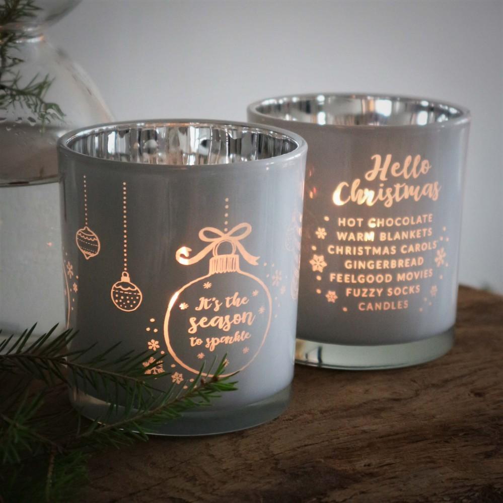 Ljuslykta Christmas - Majas lyktor/ Barncancerfonden (It's the season...) • Pryloteket