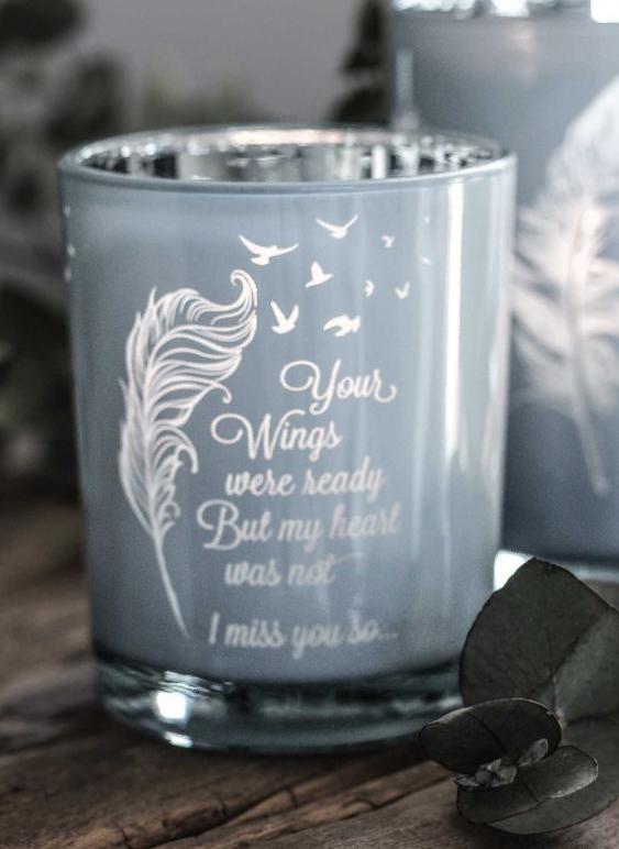 Ljuslykta Wings - Majas lyktor/ Barncancerfonden • Pryloteket