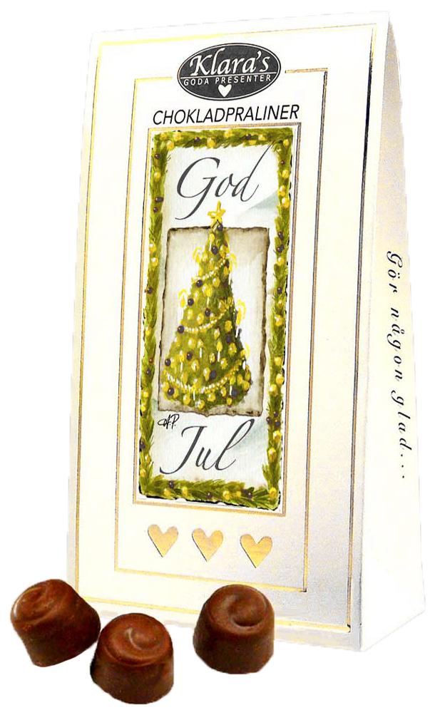 God Jul chokladpraliner, Granmotiv • Pryloteket