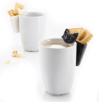 Hängförvaring Mugg, Katten Mimmi - Koziol (Vit) • Pryloteket