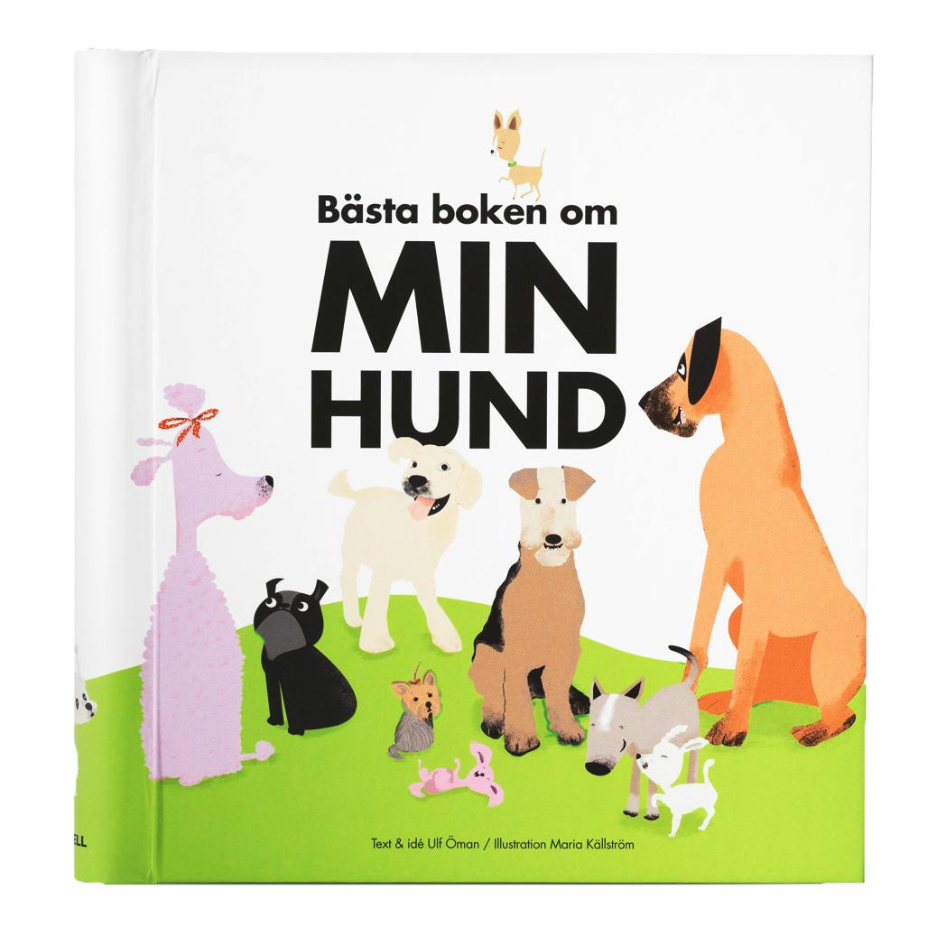 Bästa boken om min hund - Fyll-i-bok om hunden