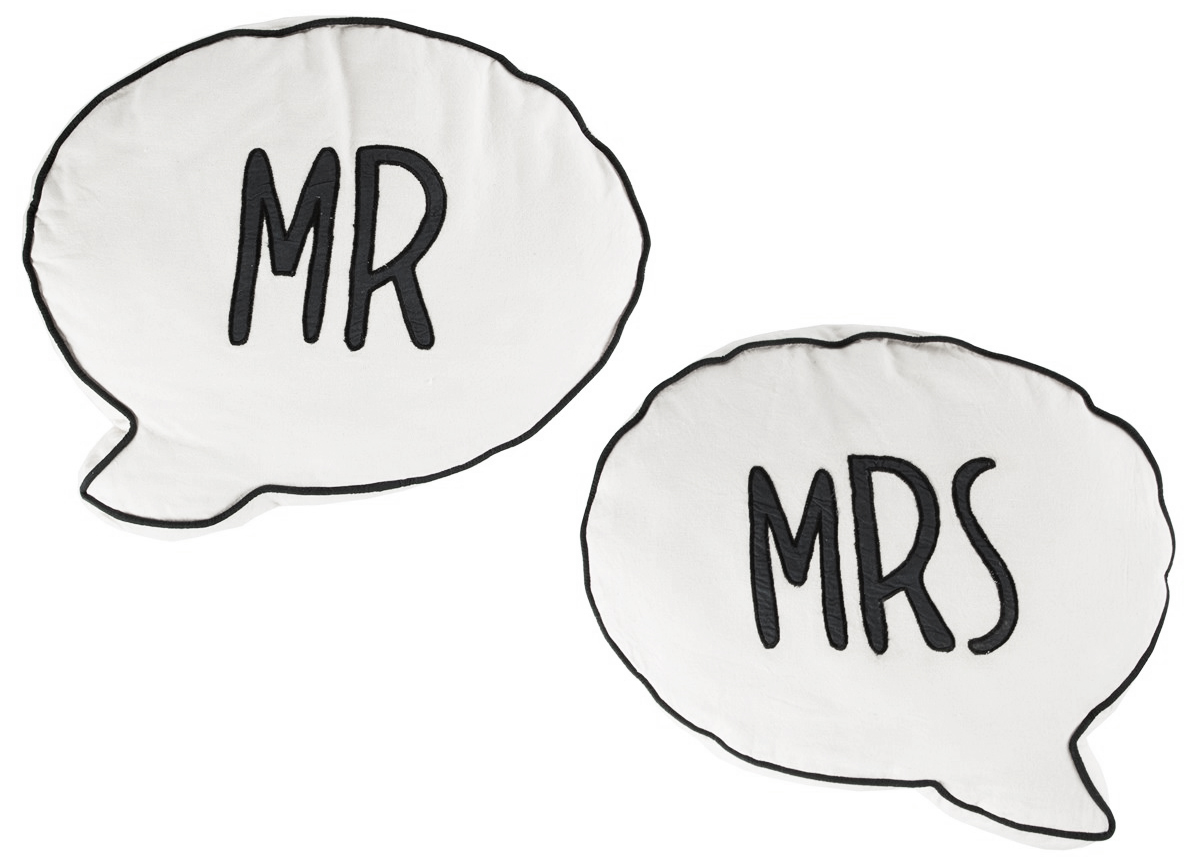 Kudde Mr & Mrs (Mr) • Pryloteket