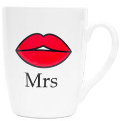 Mugg Mr eller Mrs