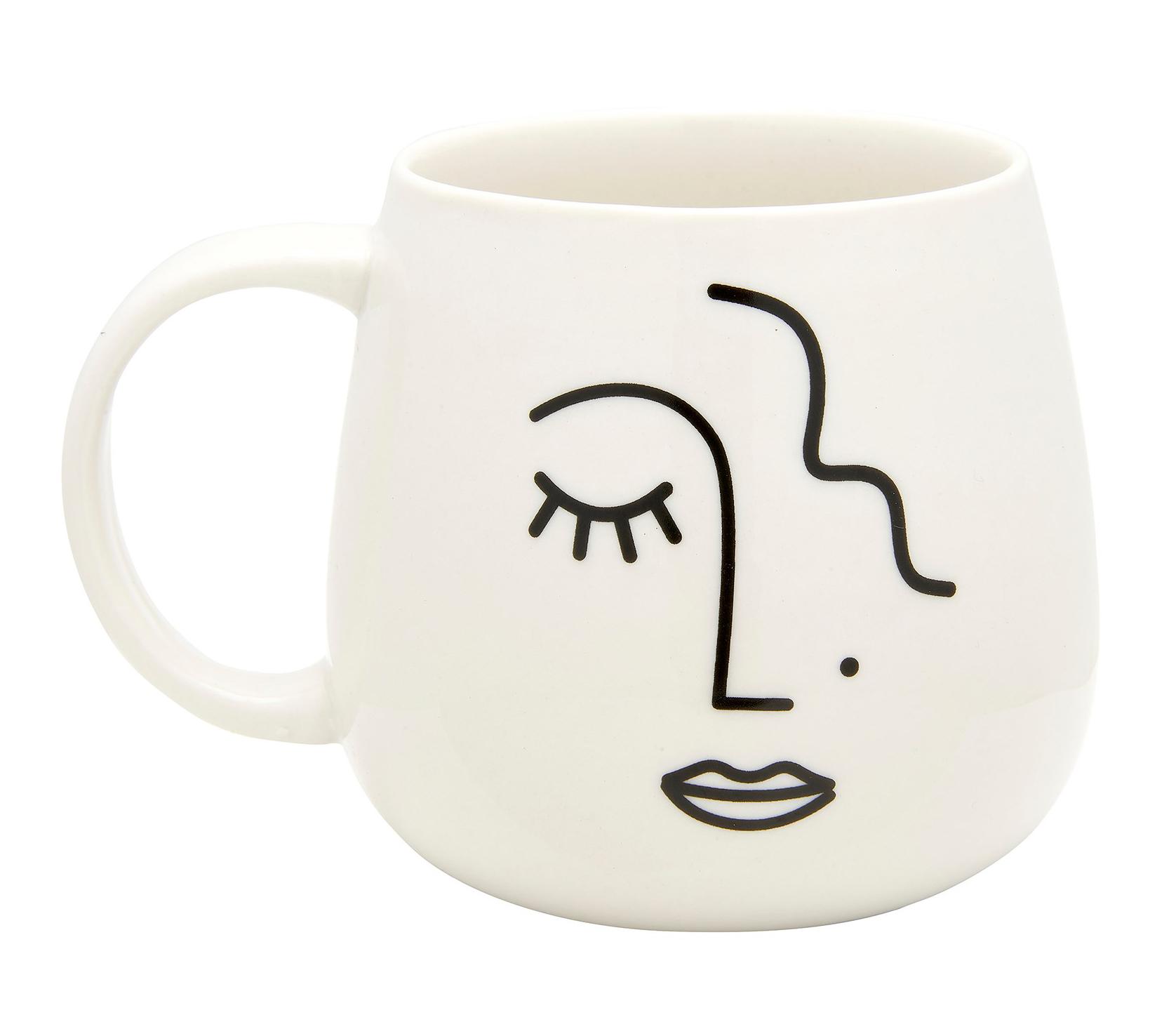 Mugg Abstract Face