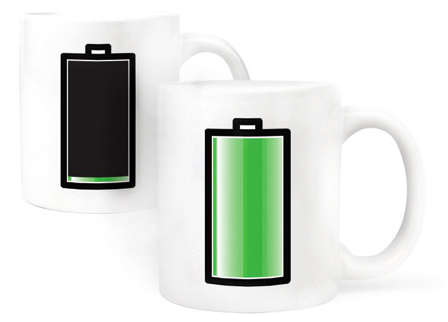"""Magisk Mugg """"Batteri • Pryloteket"""