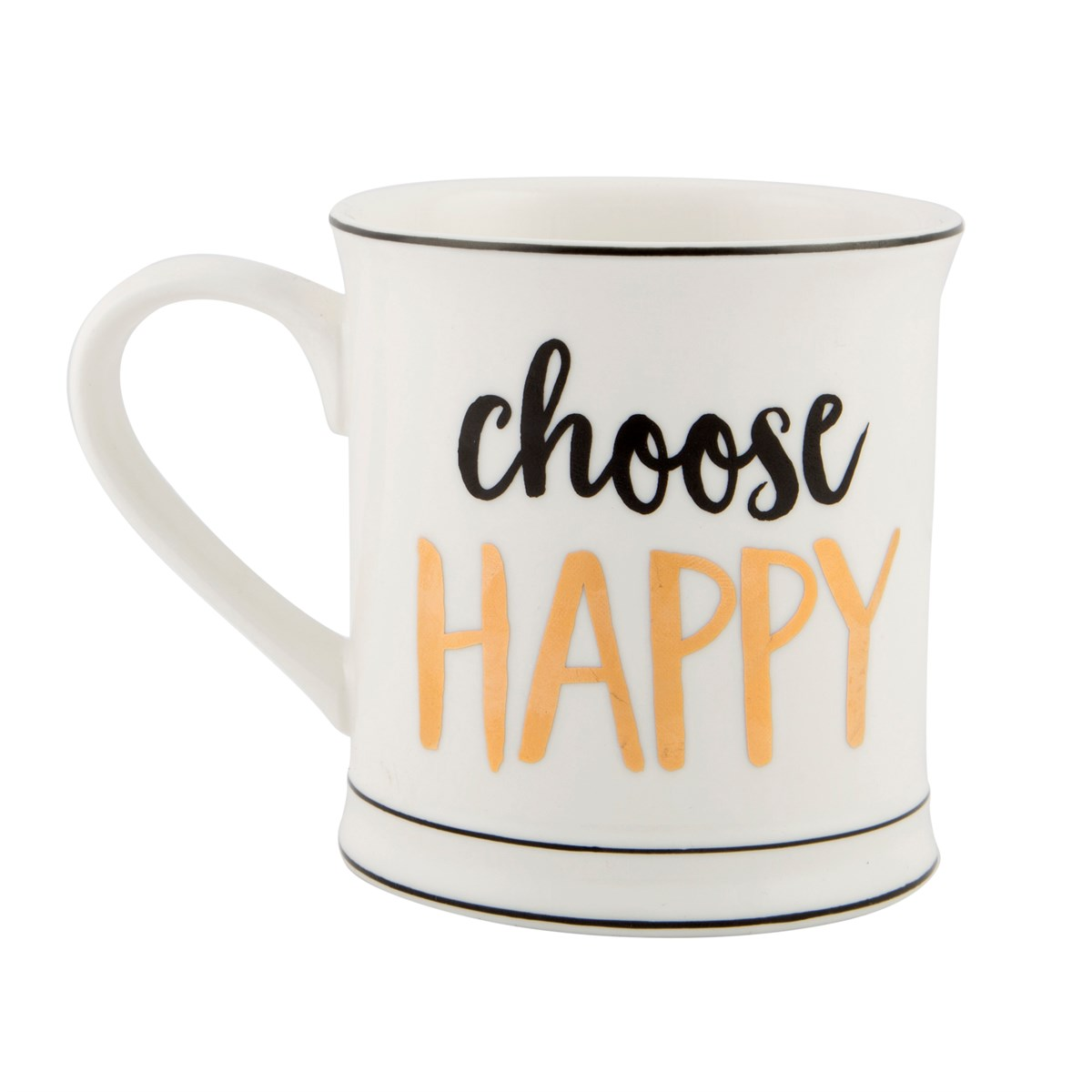 "Mugg ""Choose Happy • Pryloteket"