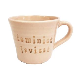 Mugg Feminist Javisst - Puss Puss Company