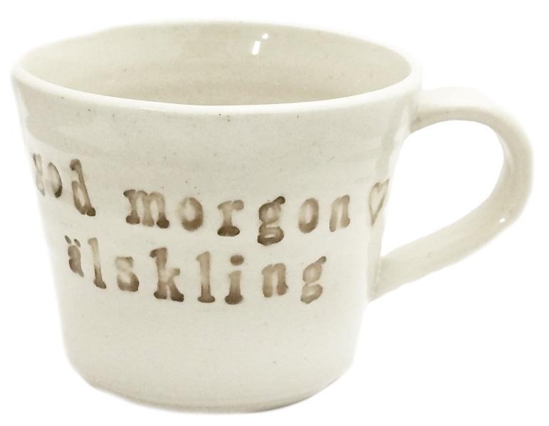 Mugg God morgon älskling - Puss Puss Company • Pryloteket