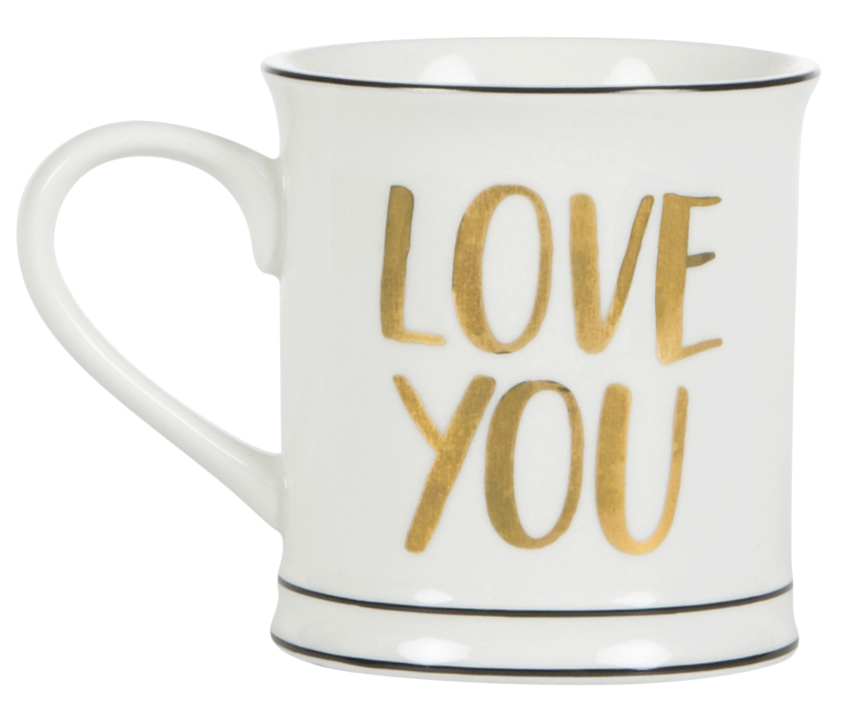 "Mugg ""Love You"" • Pryloteket"