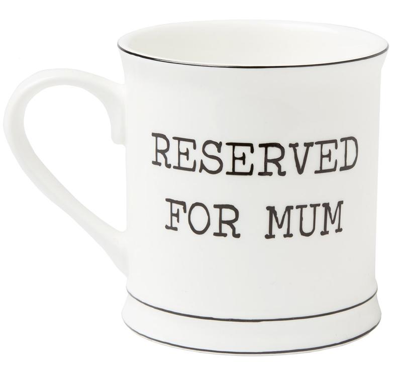 """Mugg """"Reserved for Mum"""" • Pryloteket"""