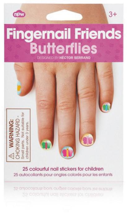 Nagelklistermärke Fjärilar • Pryloteket