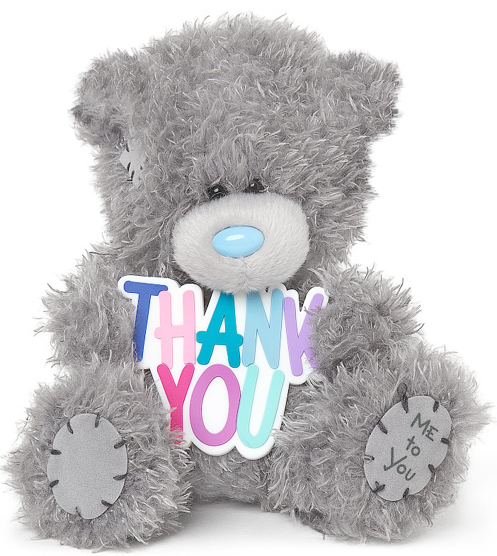 "Nalle ""Thank You"", 13cm - Me to you • Pryloteket"