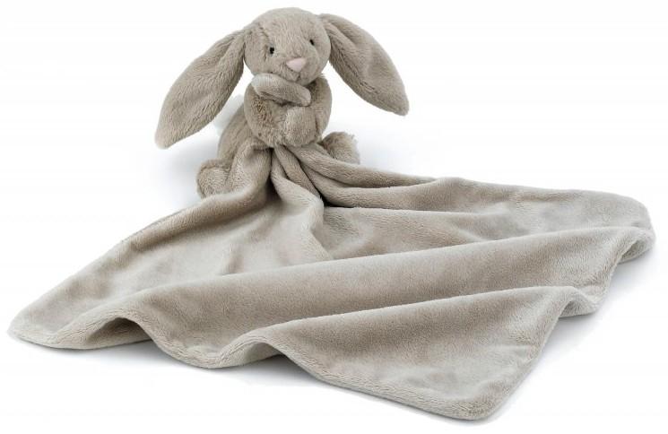 Bashful Bunny snuttefilt, beige - Jellycat