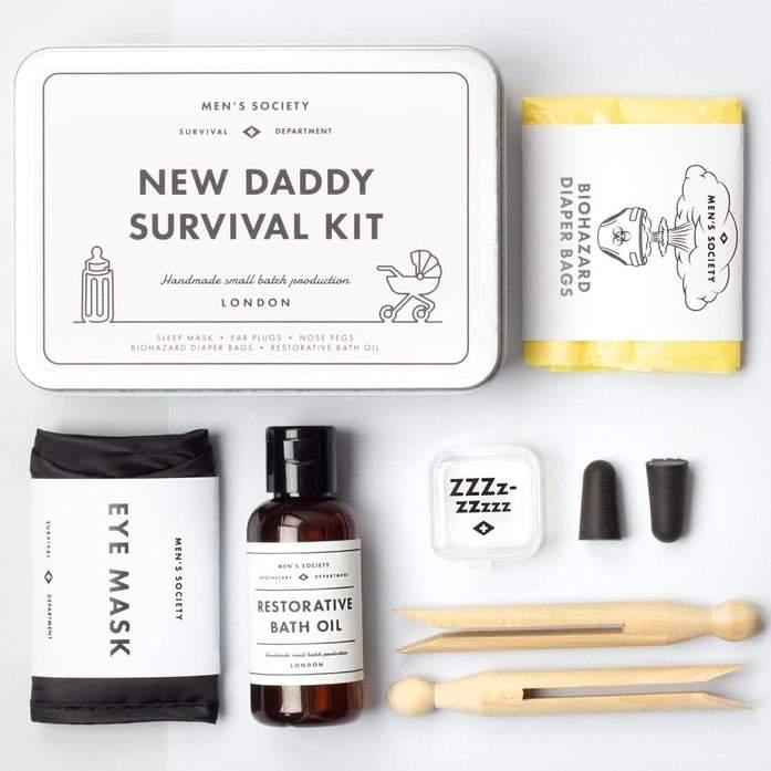 New Daddy Survival Kit - Överlevnadskit till den nyblivna pappan • Pryloteket