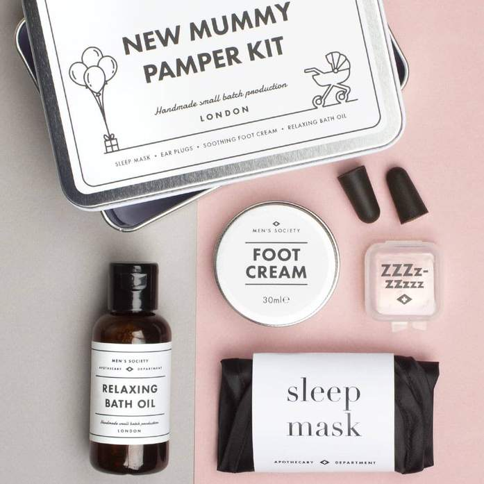 New Mummy Pamper Kit - Överlevnadskit till den nyblivna mamman • Pryloteket