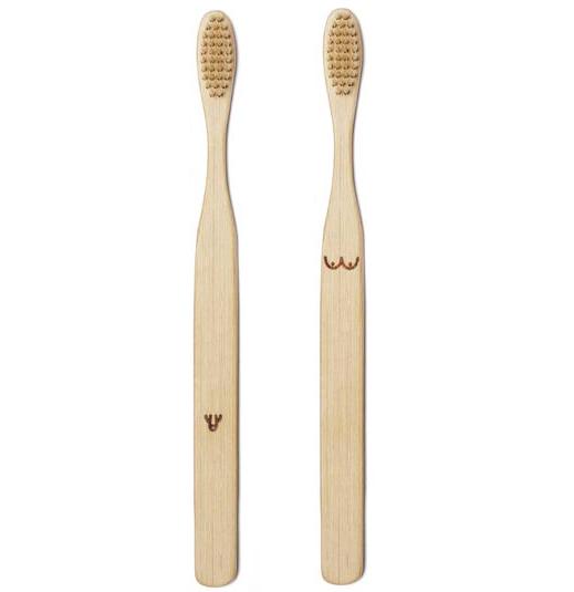 Nudie tandborstset