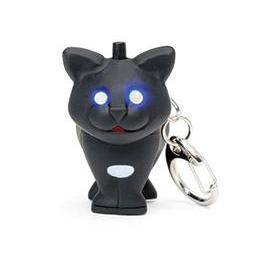 Nyckelring Katt (med ljud och ljus)