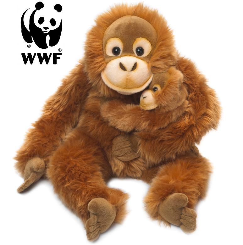 Orangutang med baby - WWF • Pryloteket