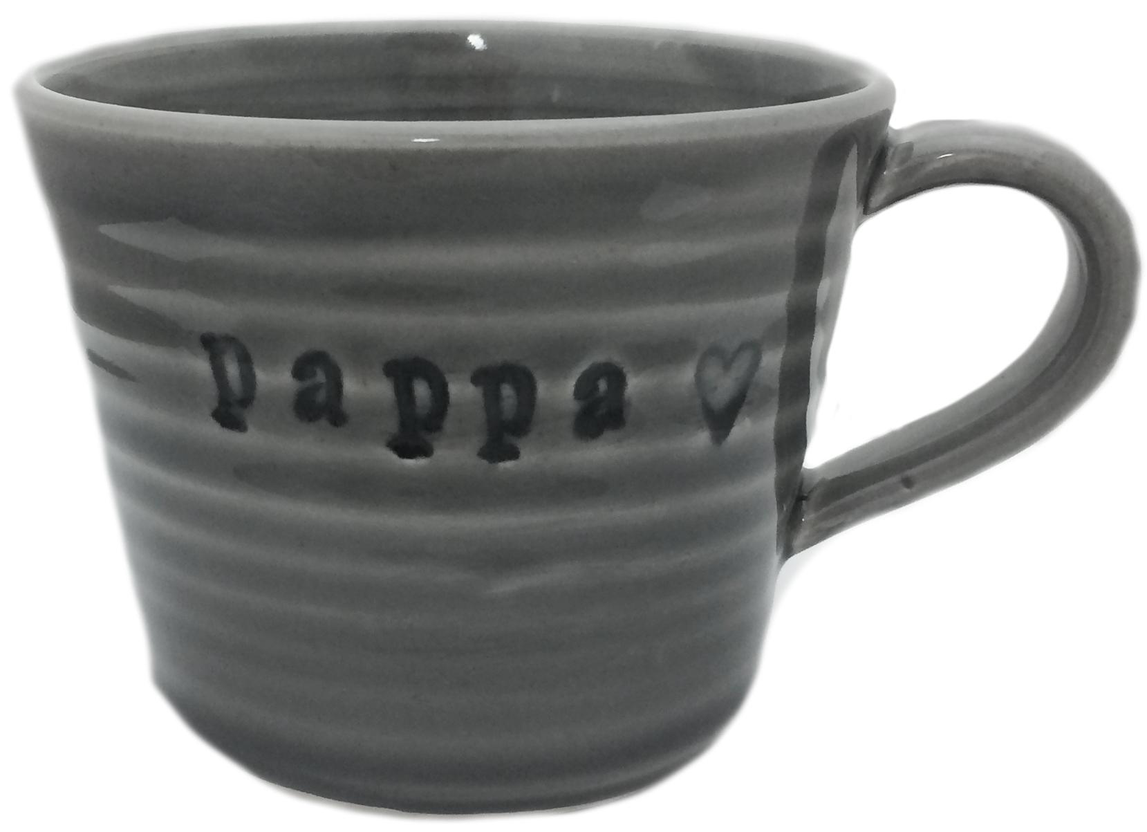 Mugg Pappa, grå - Puss Puss Company • Pryloteket