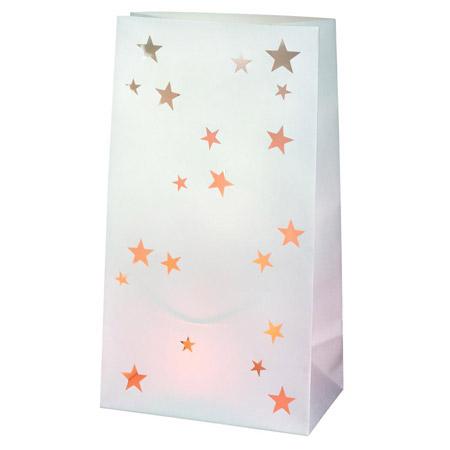 "Papperslykta ""Stars"", 2-pack - Räder • Pryloteket"