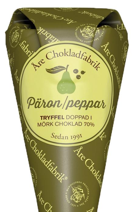 Päron/Peppar tryfflar - Choklad från Åre Chokladfabrik • Pryloteket