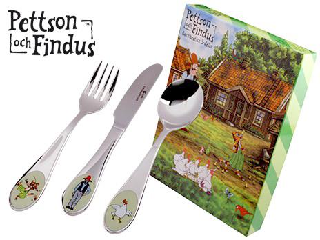Bestick Pettson och Findus • Pryloteket
