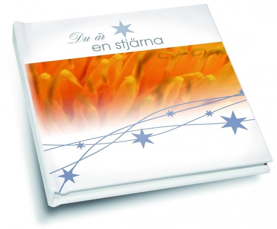 Du är en stjärna, en bok full av beundran - Presentbok • Pryloteket